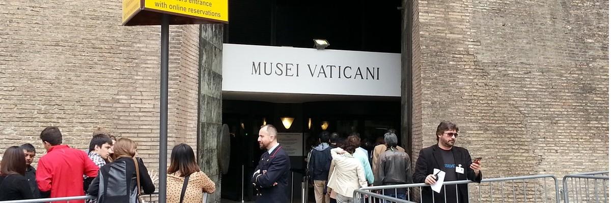 Vatican Museum Queue